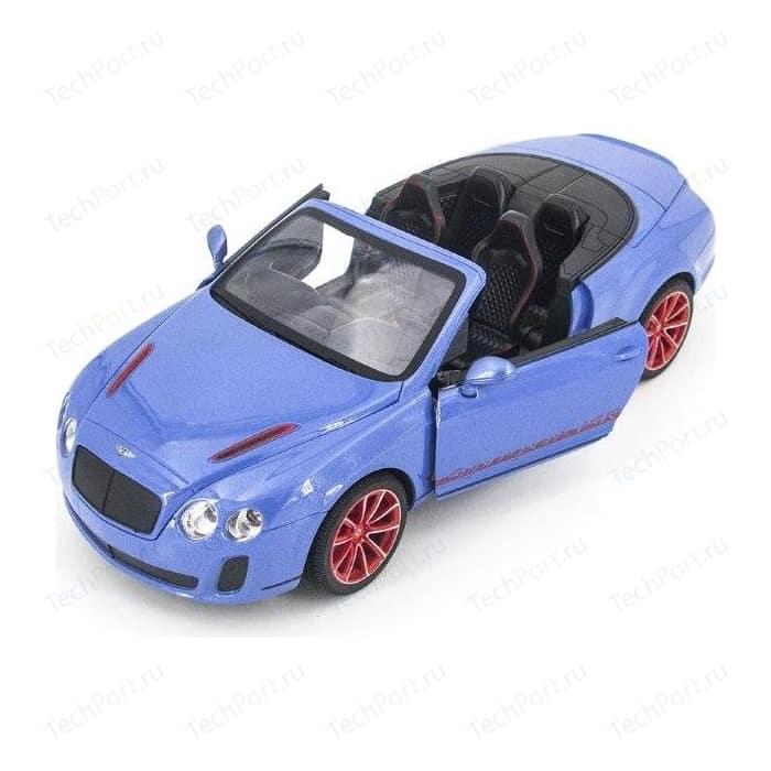 Радиоуправляемая машина MZ Model Bentley Continental GT Supersport ISR 2011 Blue 1-14