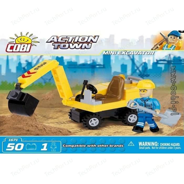 Конструктор COBI Mini Excavator