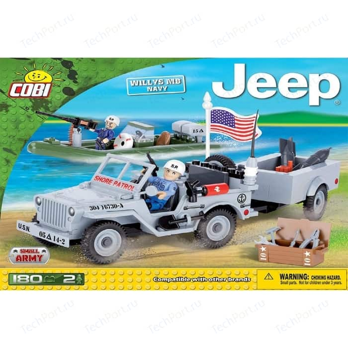 Конструктор COBI Jeep Willys MB Navy