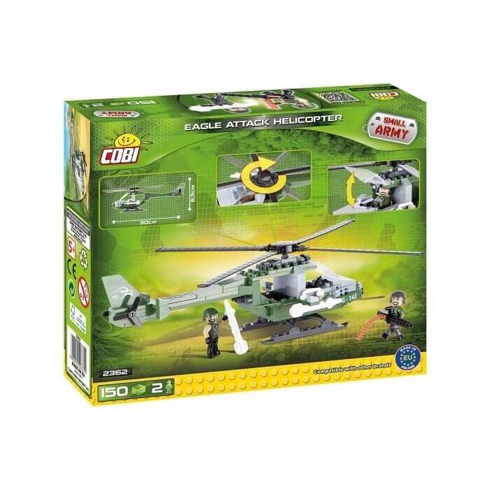 Конструктор COBI EAGLE ATTACK HELICOPTE