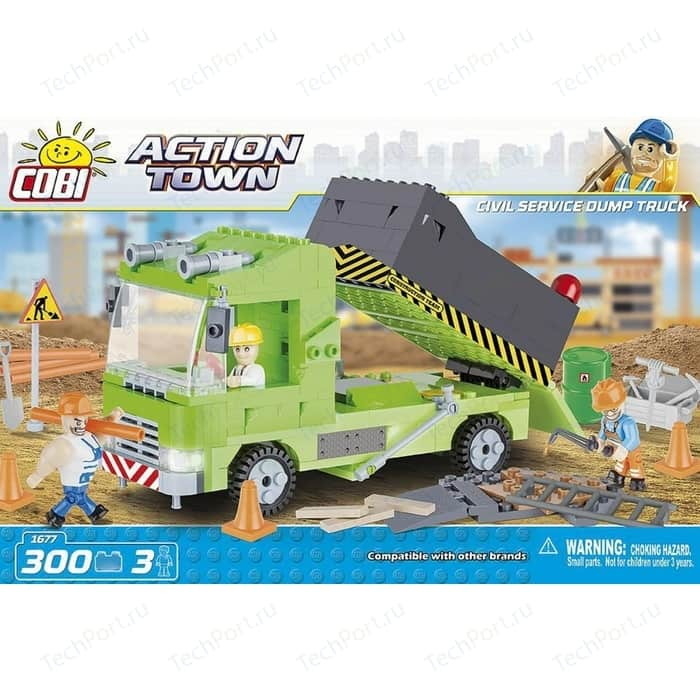 Конструктор COBI Civil Service Dump Truck