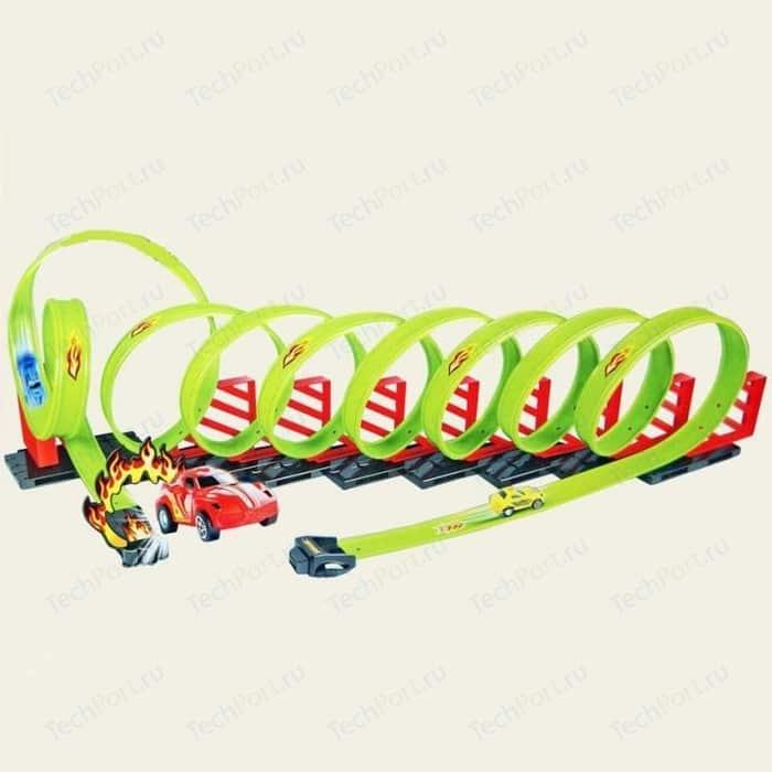 Детский пусковой трек TENGLEADER Track Racing длина трека 650 см