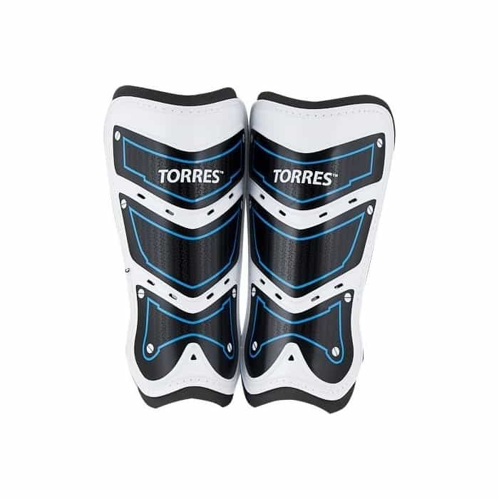 Щитки футбольные Torres Training FS1505L-BU р. L