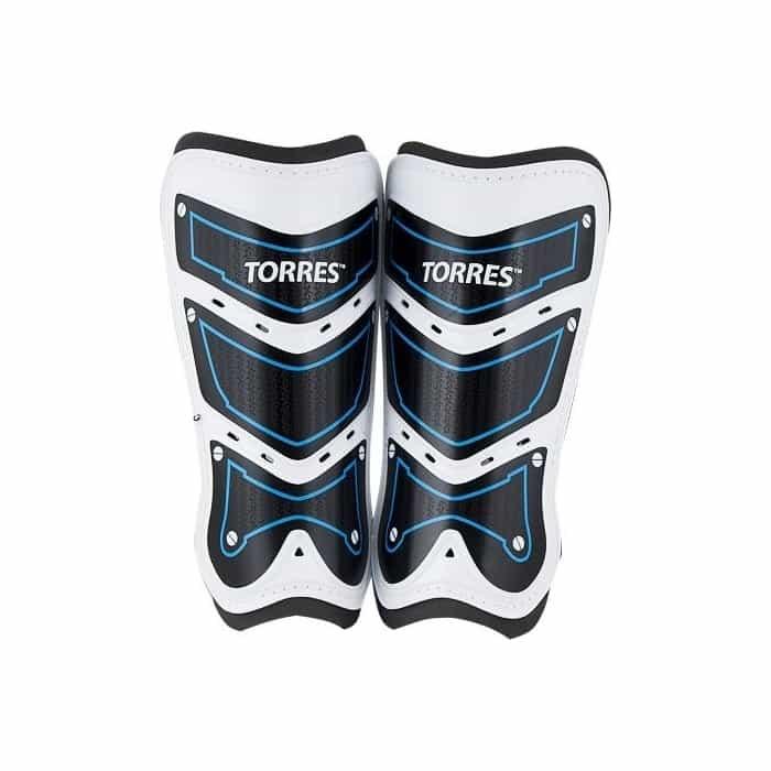 Щитки футбольные Torres Training FS1505S-BU р. S