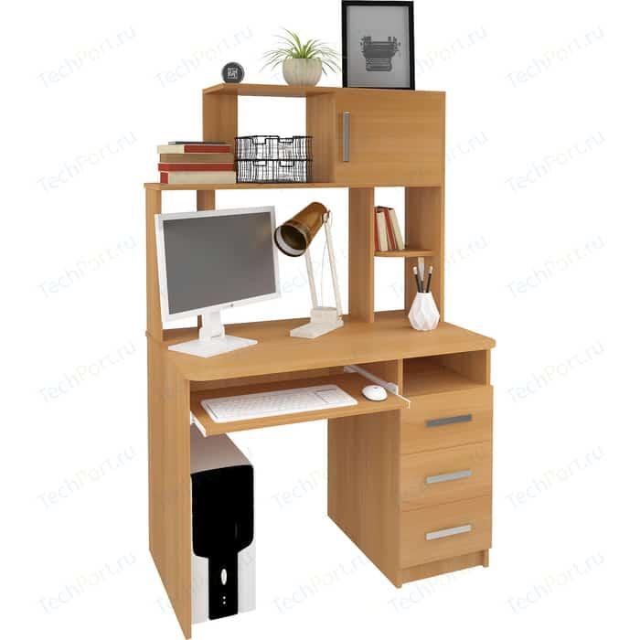 цена на Компьютерный стол Атлант Интел 12 вишня оксфорд