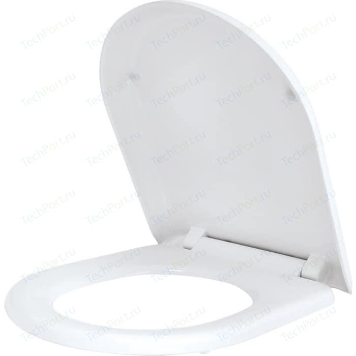 Сиденье для унитаза IDDIS с микролифтом, быстросъемное (001DPSEi31) сиденье для унитаза iddis 003dpsei31 с микролифтом
