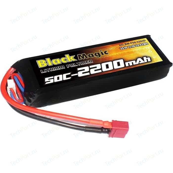 Аккумулятор Black Magic 11.1В 3S 25C 2200мАч