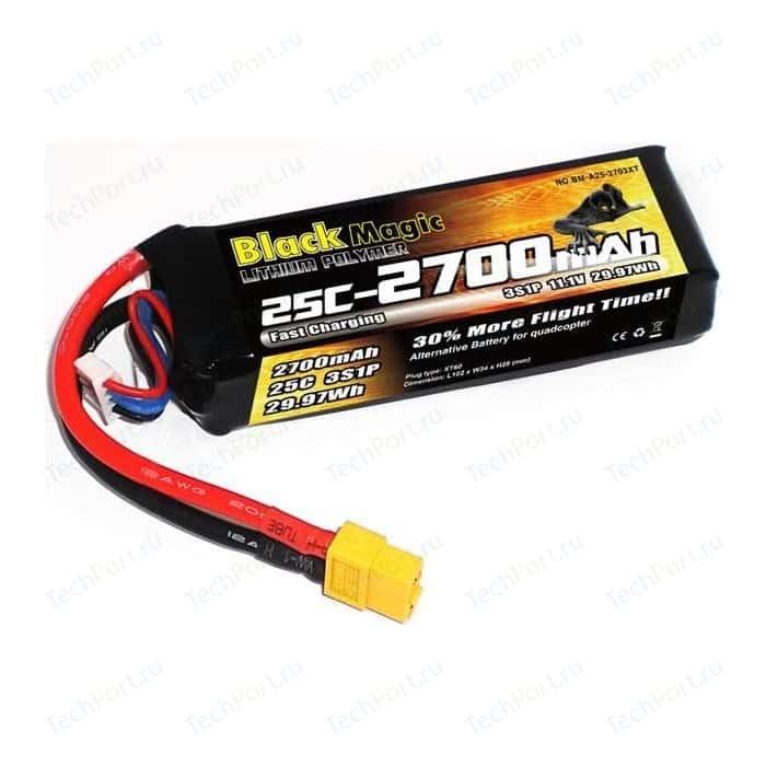 Аккумулятор Black Magic Phantom 11.1В 3S 25C 2700мАч