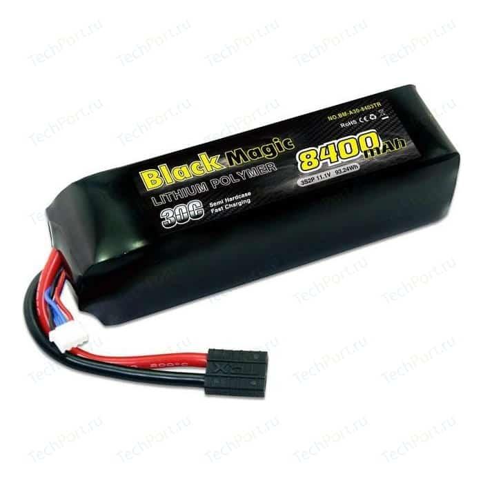 Аккумулятор Black Magic Li-Po 11.1В 3S 30C 8400мАч