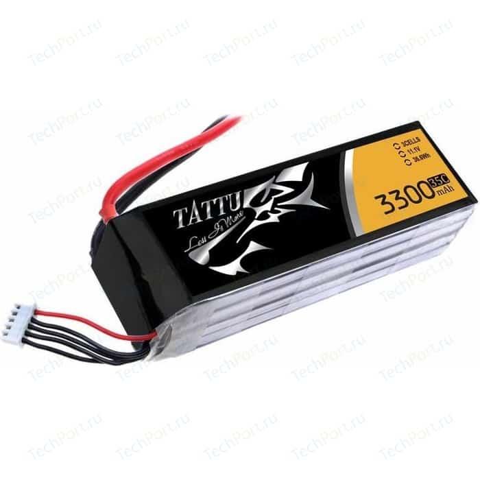 Аккумулятор Gens Li-Po 11.1В 3300мАч 35C (3S1P) TATTU