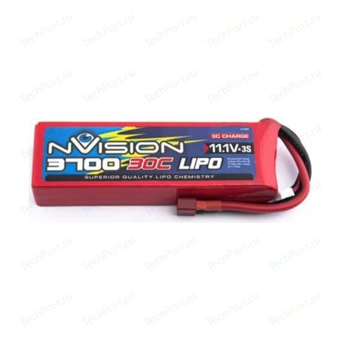 Аккумулятор nVision Li-Po 11.1В 3S 30C 3700мАч