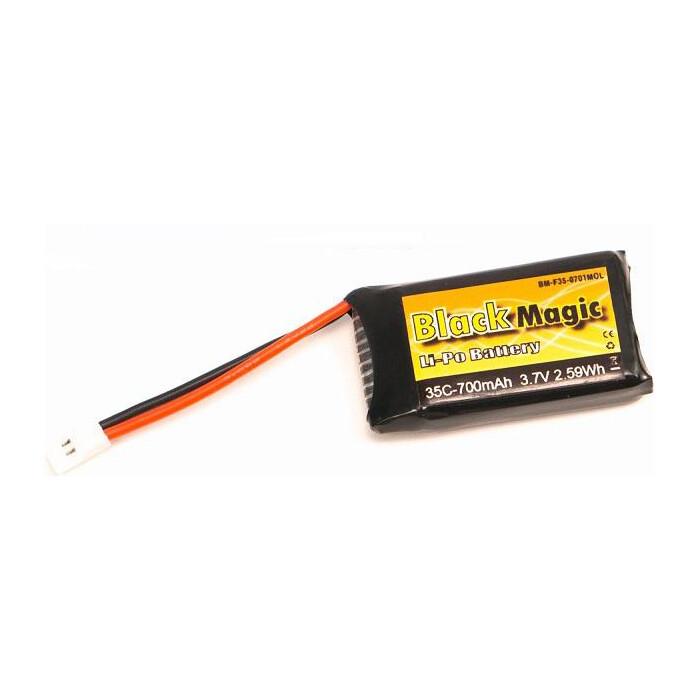 Аккумулятор Black Magic Li-Po 3.7В 1S 35C 700мАч