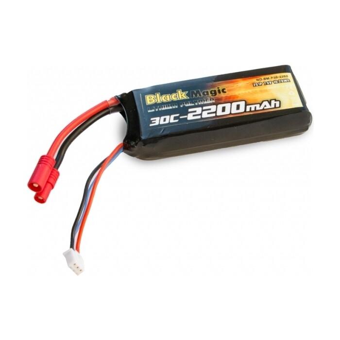 Аккумулятор Black Magic Li-Po 7.4В ( BM-F30-2202)