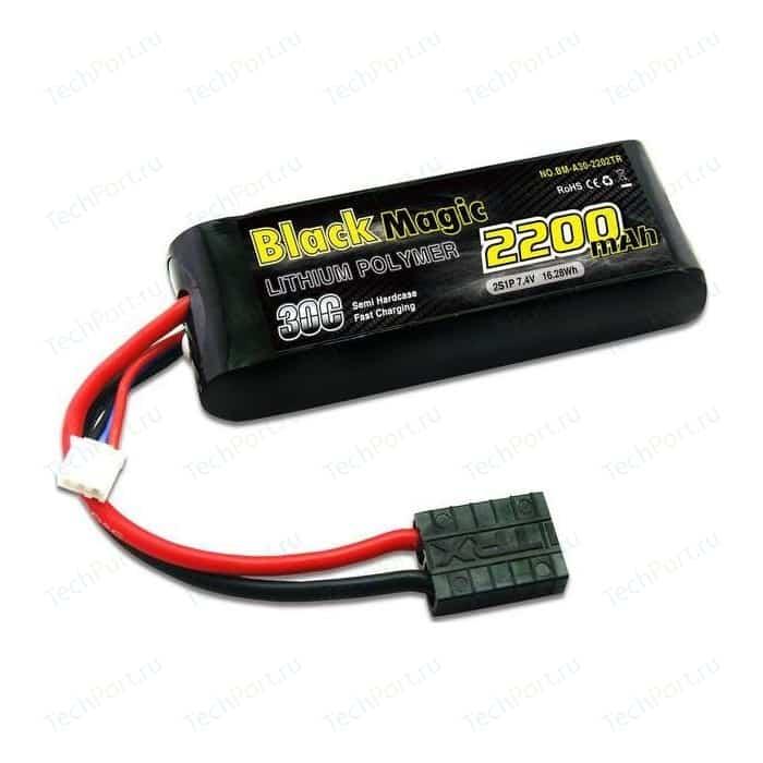 Аккумулятор Black Magic Li-Po 7.4В 2S 30C 2200мАч