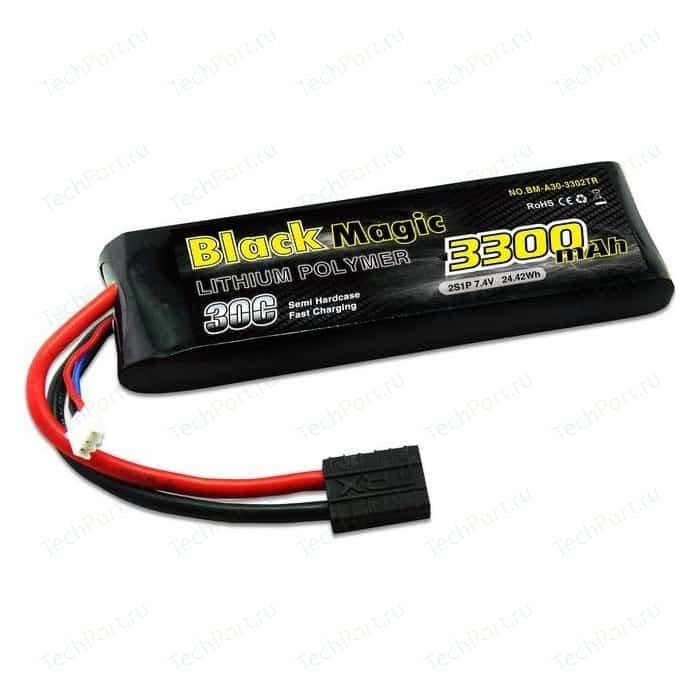 Аккумулятор Black Magic Li-Po 7.4В 2S 30C 3300мАч