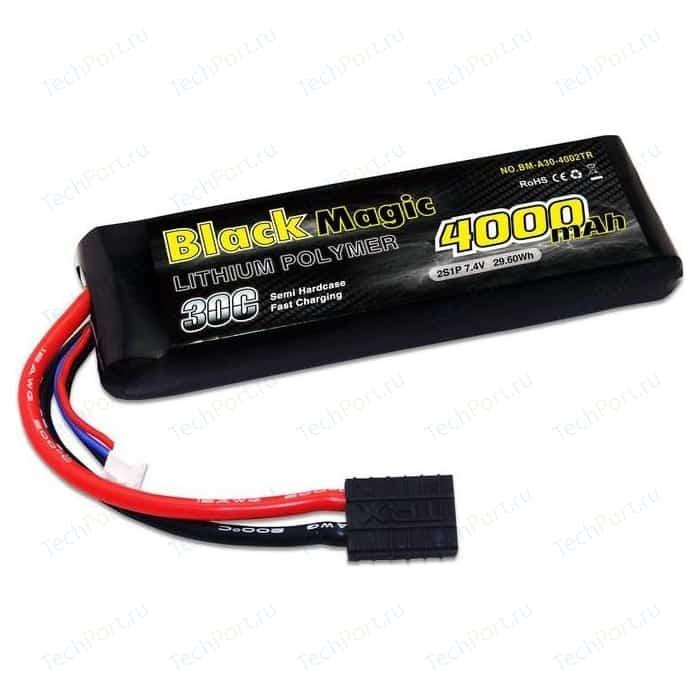 Аккумулятор Black Magic Li-Po 7.4В 2S 30C 4000мАч