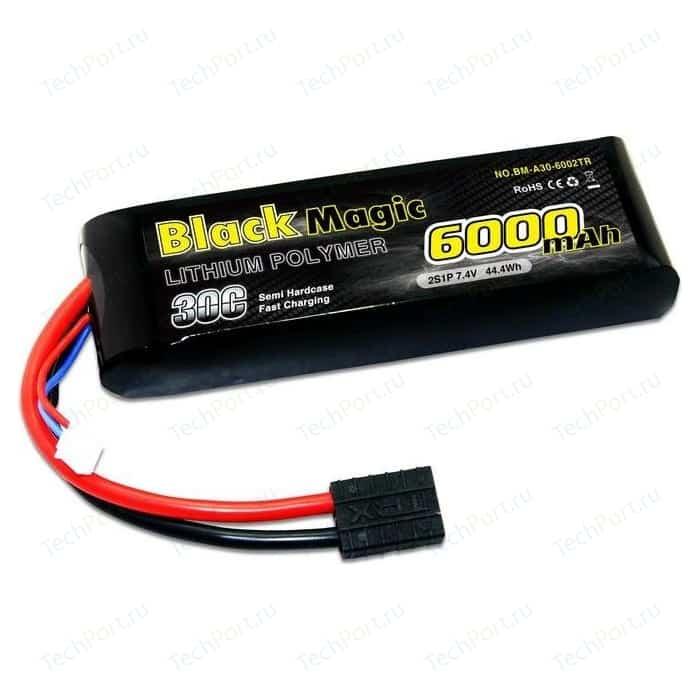Аккумулятор Black Magic Li-Po 7.4В 2S 30C 6000мАч