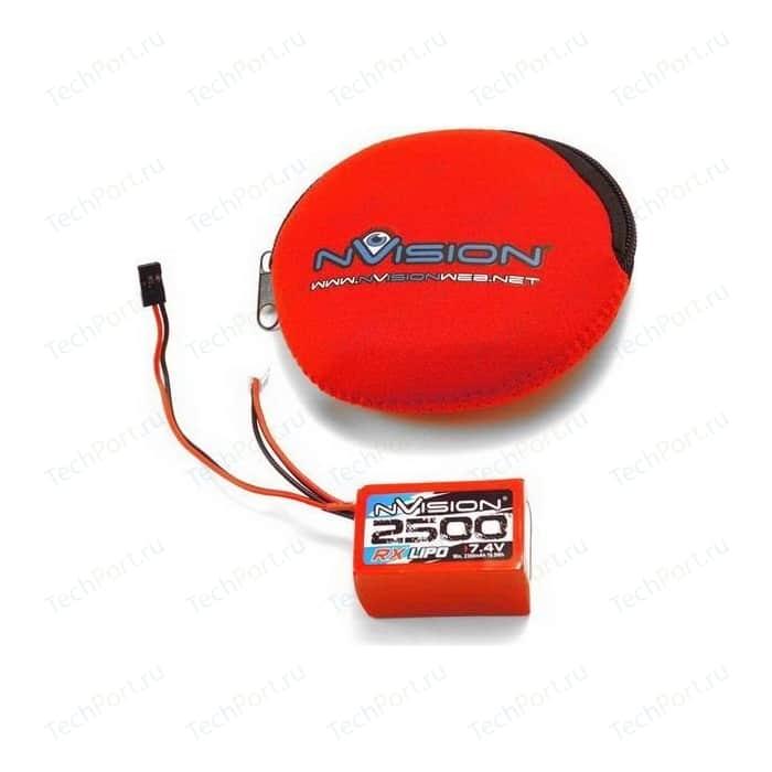Аккумулятор nVision RX Li-Po 7.4В Hump 2S 10C 2500мАч
