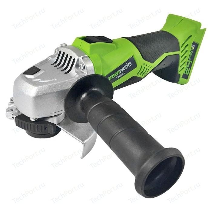 Угловая шлифмашина аккумуляторная GreenWorks G24AG (3200007)