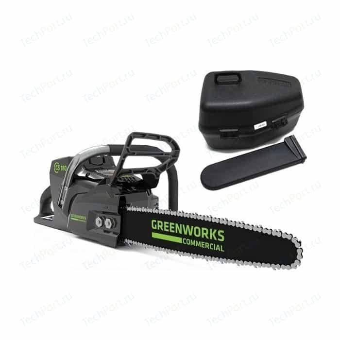 Электропила аккумуляторная GreenWorks GD82CS50/GC82CS50 (2001607)
