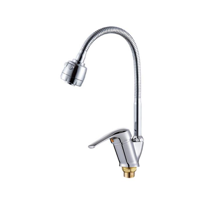 Смеситель для кухни РМС SL50 с душем, хром (SL50-016F)