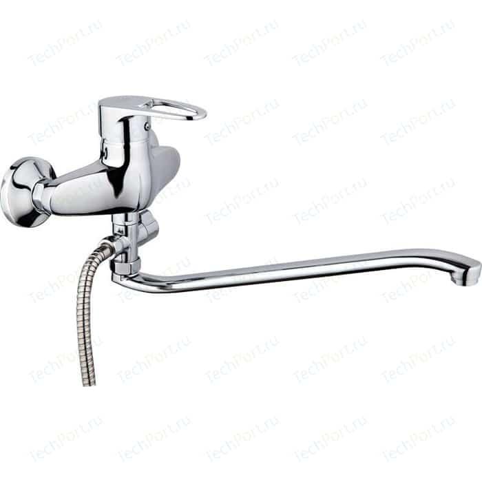 Смеситель для ванны РМС SL52 с длинным изливом (SL52-006) цена 2017