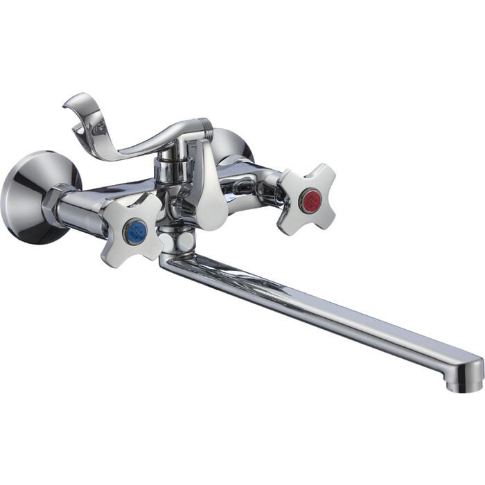 Смеситель для ванны РМС SL115 с длинным изливом (SL115-140E) цена 2017