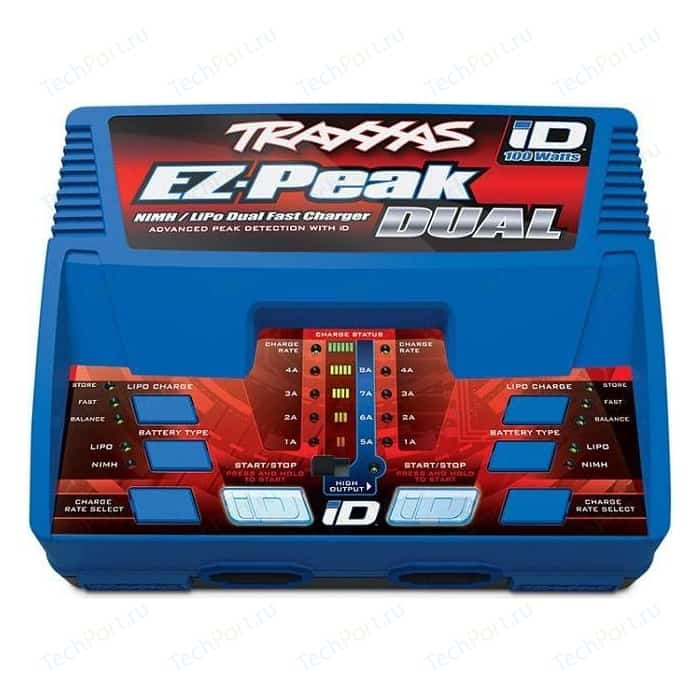 Зарядное устройство TRAXXAS Plus 4A Ni MH.Li Po Fast Charger with iD
