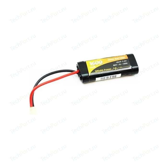 Аккумулятор BRightPower Ni-Mh 1600мАч 7.2В MiniTamiya plug