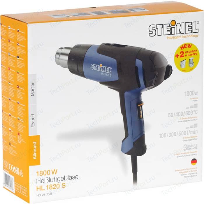 Строительный фен Steinel HL 1820 S + 2 насадки (052768/110055308) строительный фен steinel hl 1400 s 1400 вт