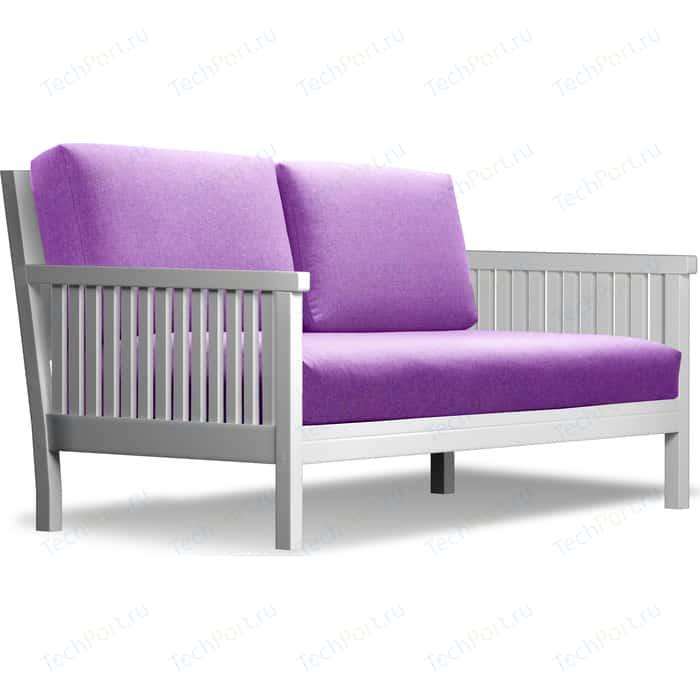 Диван Anderson Норман эмаль-фиолетовая рогожка