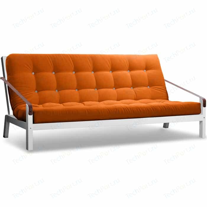 Диван Anderson Локи эмаль-оранжевый вельвет
