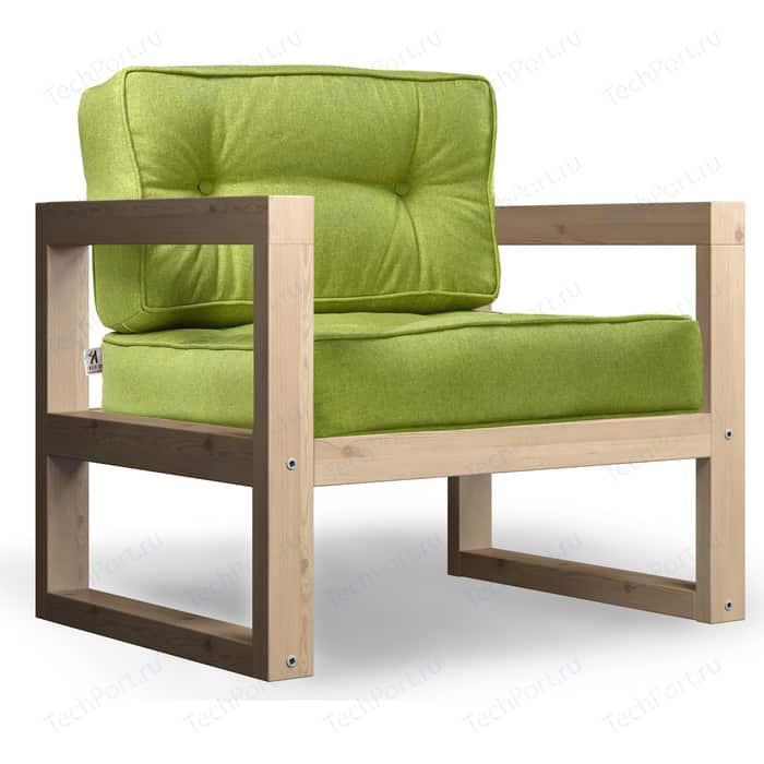 Кресло Anderson Астер сосна-зеленая рогожка.