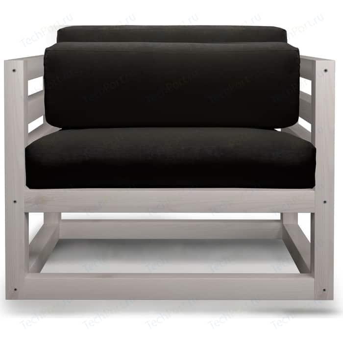 Кресло Anderson Магнус бел дуб-черный вельвет. недорого