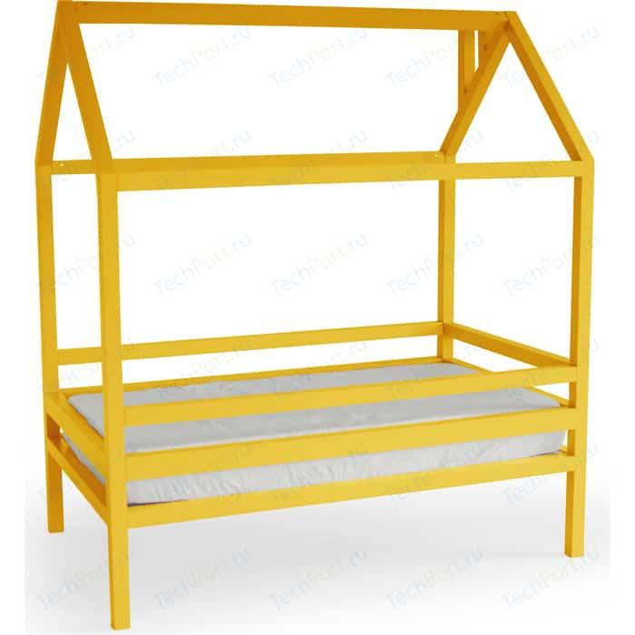 Кровать Anderson Дрима H желтая 80x160
