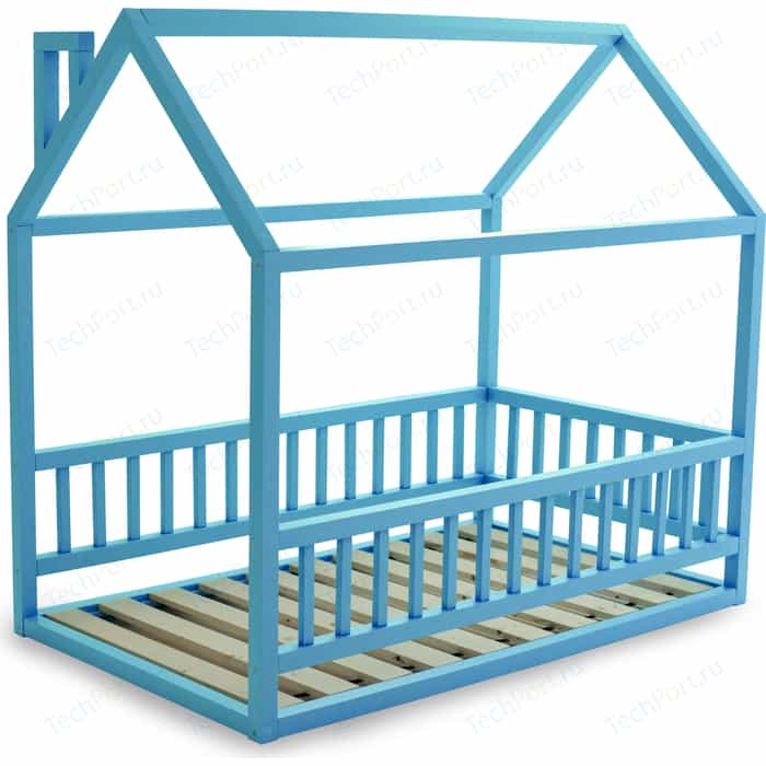 Кровать Anderson Дрима МБ голубая 80x190