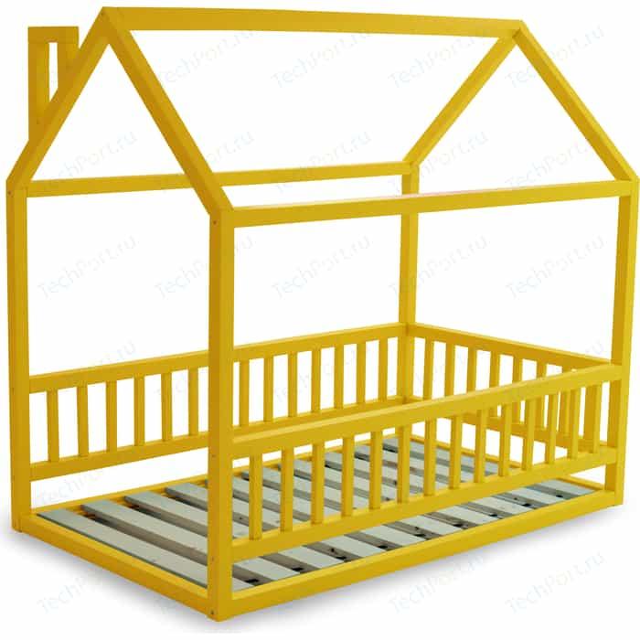 Кровать Anderson Дрима МБ желтая 80x190