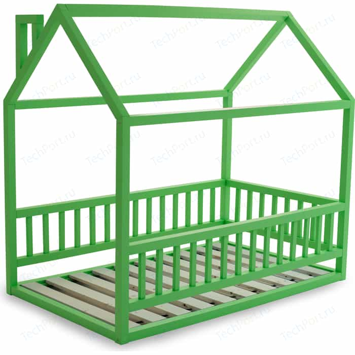 Кровать Anderson Дрима МБ зеленая 80x190