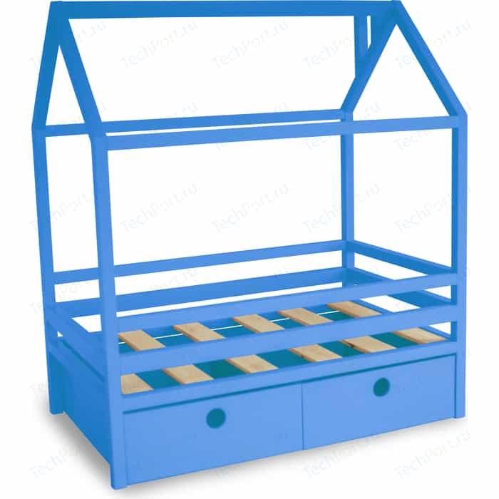 Кровать Anderson Дрима BOX голубая 80x160