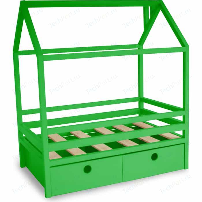 Кровать Anderson Дрима BOX зеленая 80x190
