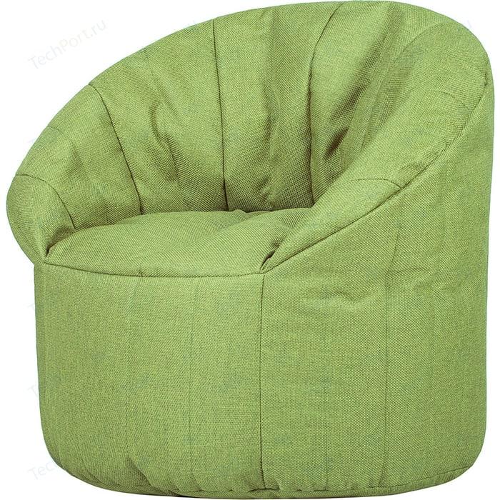 Бескаркасное кресло Папа Пуф Club chair lime