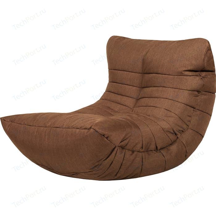 Бескаркасное кресло Папа Пуф Cocoon chocolate