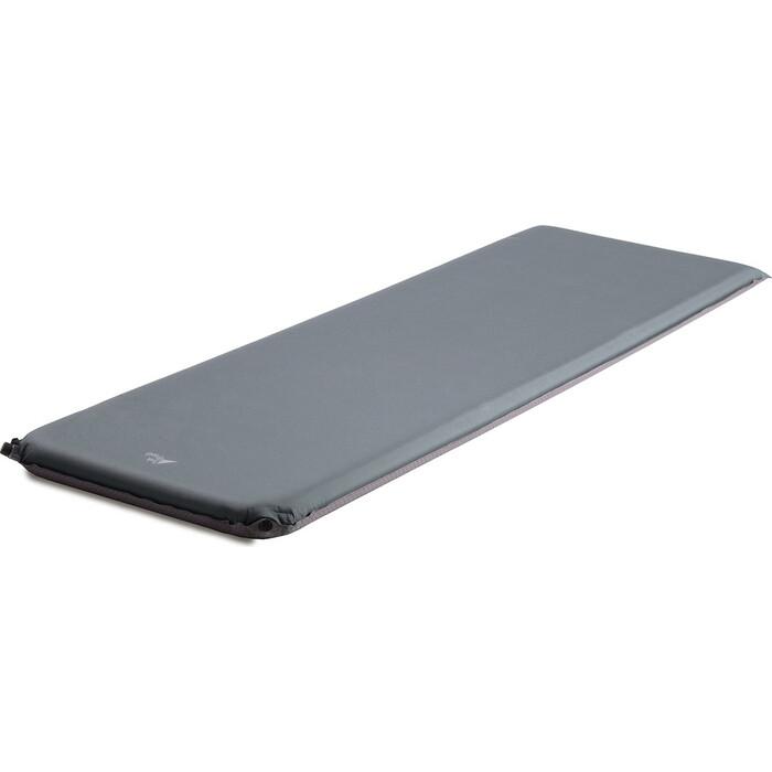 Коврик самонадувающийся кемпинговый TREK PLANET Relax 70, серый, 198х63,5х7 см