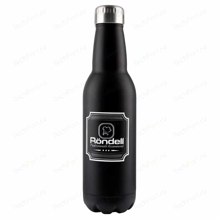 Термос 0.75 л Rondell Bottle Black (RDS-425)