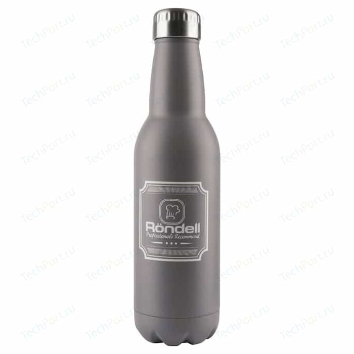 Термос 0.75 л Rondell Bottle Grey (RDS-841)
