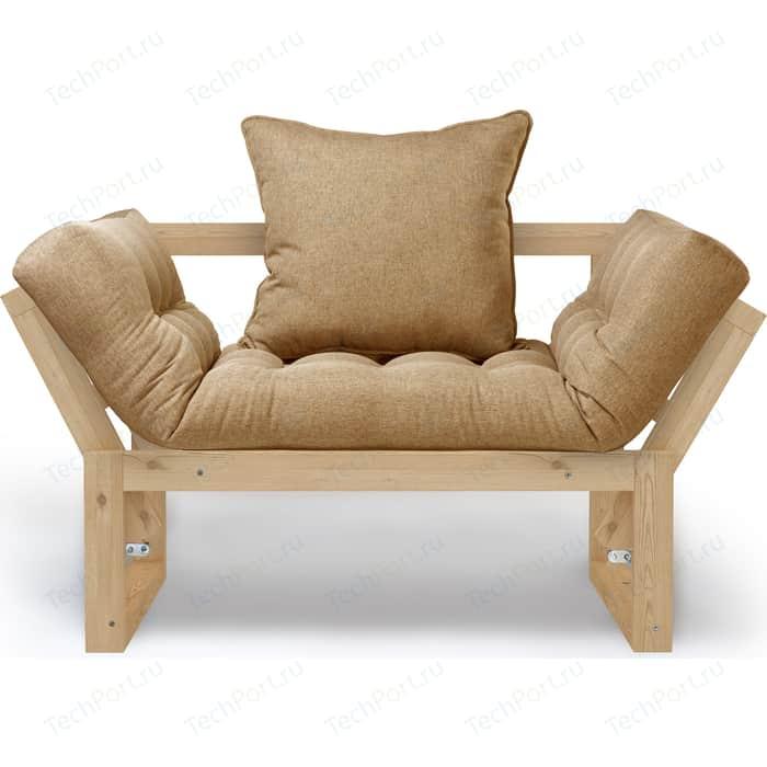 Кресло Anderson Амбер сосна-бежевая рогожка.