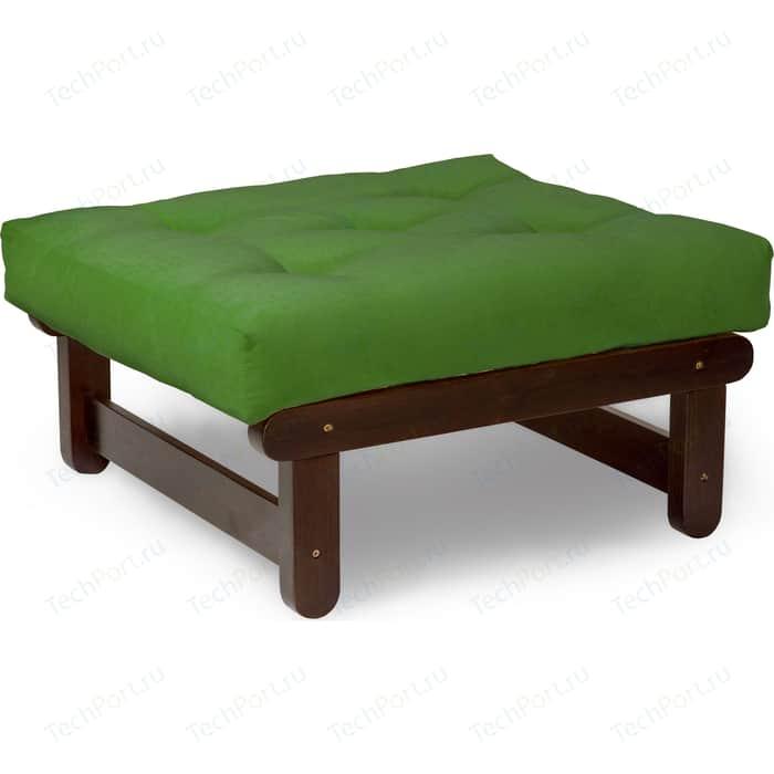 Пуфик Anderson Сламбер орех зеленый вельвет