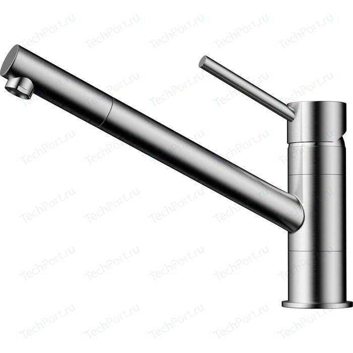 Смеситель для кухни Omoikiri Aogashima-BN нержавеющая сталь (4994246)