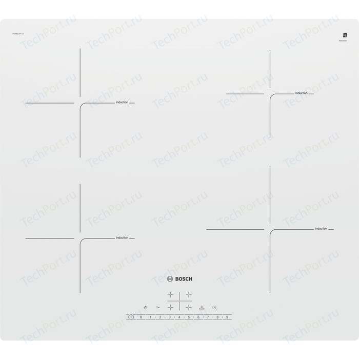 Индукционная варочная панель Bosch Serie 6 PUE612FF1J