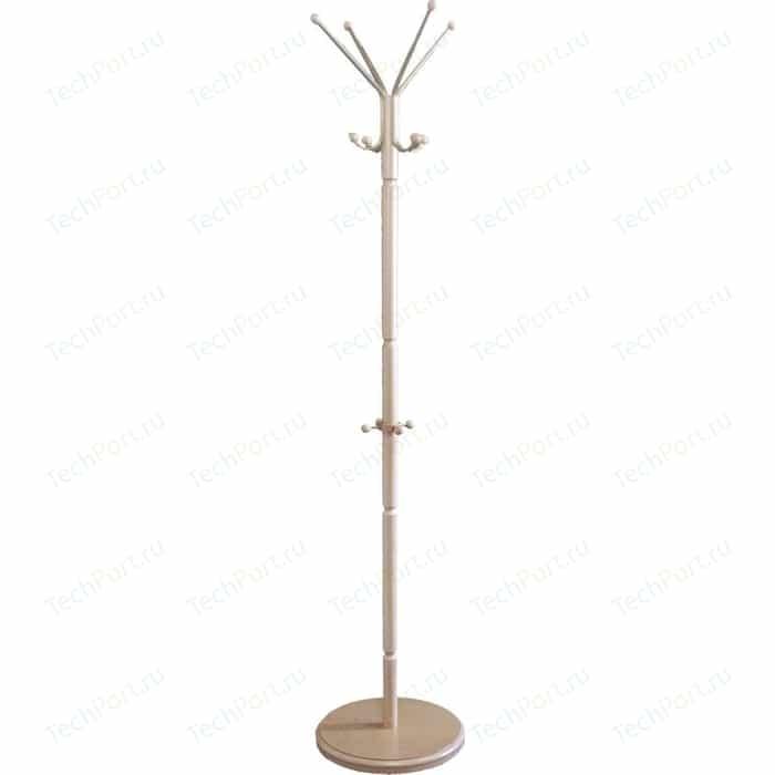 Вешалка напольная Мебелик В 33Н слоновая кость